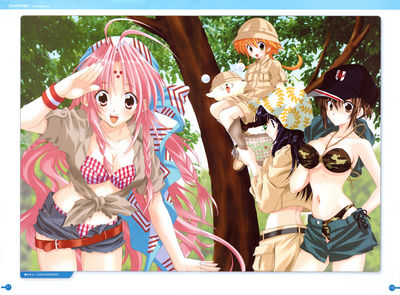 girls bravo artbook